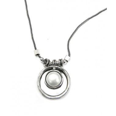 Round Pearl Pendant