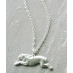Hermione Sterling Silver Rabbit Necklace