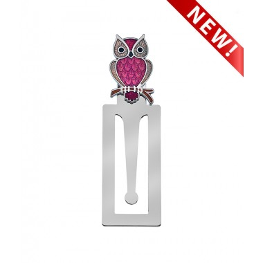 Bookmark - Owl on Branch