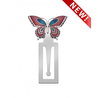 Bookmark - Butterfly and Leaf