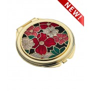 Compact Mirror - Multi Flower