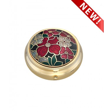 Pill box - Multi Flower