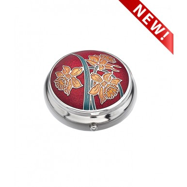 Pill box - Daffodils