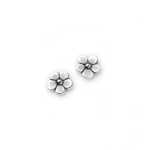 earring set flower pearl side rs proddetail stud double at rose blue