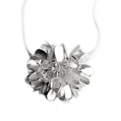 Silver Dandelion Days Pendant