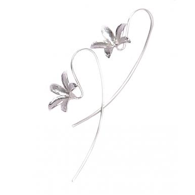 Long Hook Earrings - Spring Morning