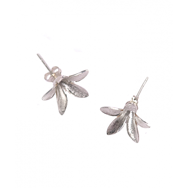 Silver Spring Morning Stud Earrings