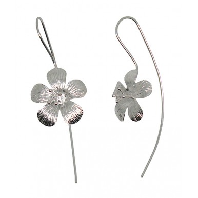 Long Hook Earrings - Classic Daisy