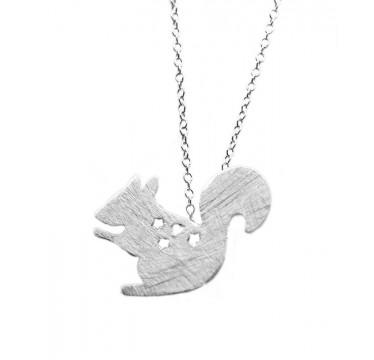 Squirrel Necklace - Buried Treasure