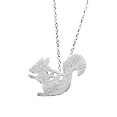 Squirrel Necklace - Buried Treasure