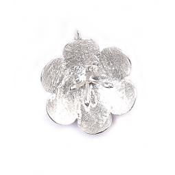 Silver Hawthorn Pendant