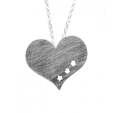 Wish For Love - Heart Pendant