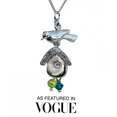 Bird House Necklace - As featured in Vogue Oct 2012