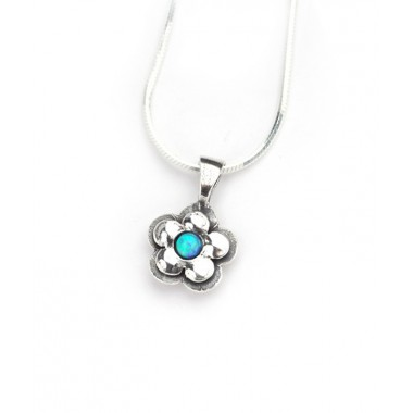 Opal Pretty Daisy Necklace - LAST ONE