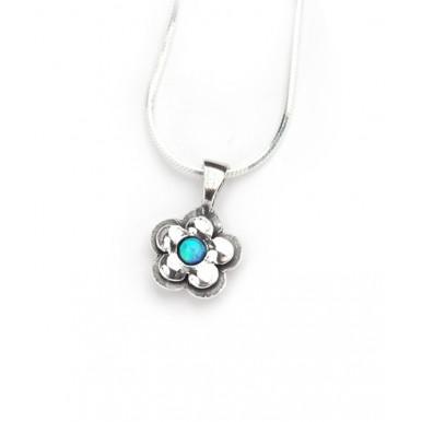 Opal Pretty Daisy Necklace - LAST ONE