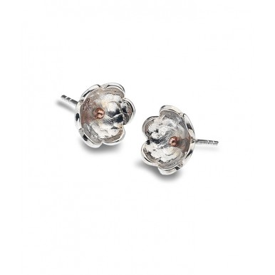 Flower and Dot Studs