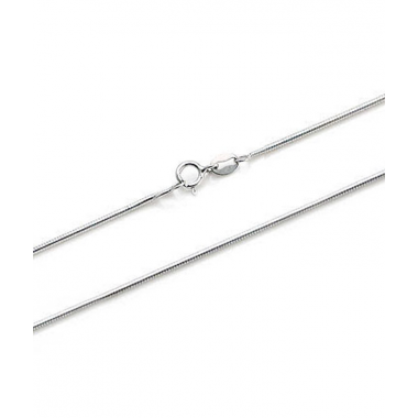 Sterling Silver Snake Chain 24""