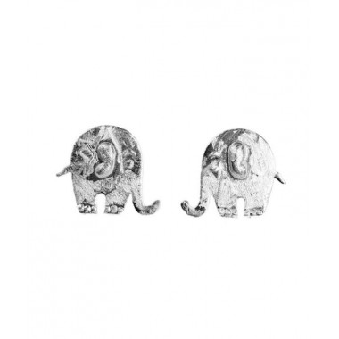 earrings of elephant with world wildlife cute products sterling stud silver