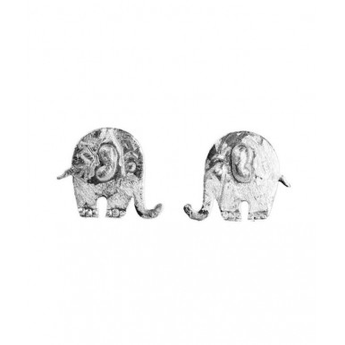Cute Elephant Stud Earrings